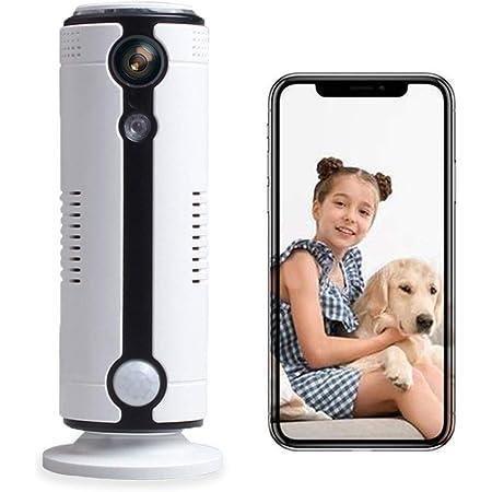 WiFi 3G Cámara de Vigilancia, HD Cámara IP WiFi Inalámbrica, PjxerdQ para Mascotas Monitor de Bebés con Vigilancia de Audio Bidireccional Detección de Movimiento Visión Nocturna, App iOS y Android