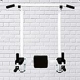 Barra ajustable para montaje en pared, barra de dominadas de altura para entrenamiento de fuerza de agarre múltiple para gimnasio en casa, capacidad de peso de 400 libras