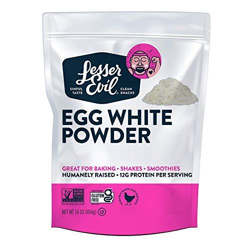 Lesserevil Egg White Powder, 16 Oz