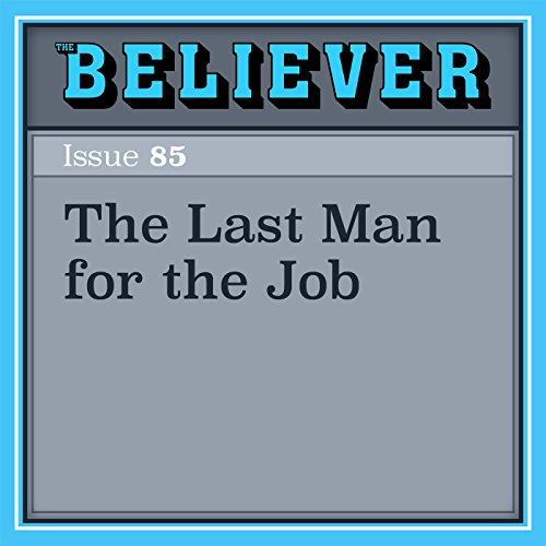 The Last Man for the Job audiobook cover art