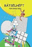 Rätselheft für coole Kids: Rätselblock für Kinder ab 10 Jahre   Rätselbuch das Spaß macht mit Wortsuche, Sudokus, Zahlenrätsel, Labyrinth, Silbenrätsel ...