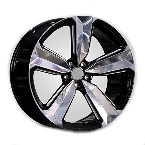 GYZD Alu Felgen 21 Zoll Durchfluss geschmiedete Radlegierung Ersatzrad Auto Rad Maschine Aluminium Felge Passend für R21 *9J Reifen Geeignet für a4l a6l a3 a4 a7 a5 q7 1 Stück,F