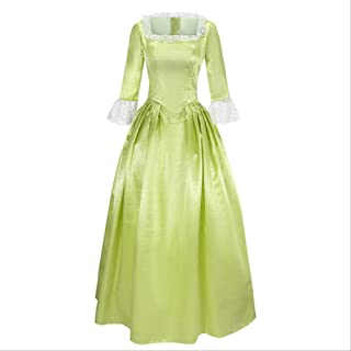 Rock Opera Hamilton Musical Camisa Satén Etapa Vestido Concierto Peggy Elizabeth Angelica Cosplay Traje Adulto Mujeres Vic...