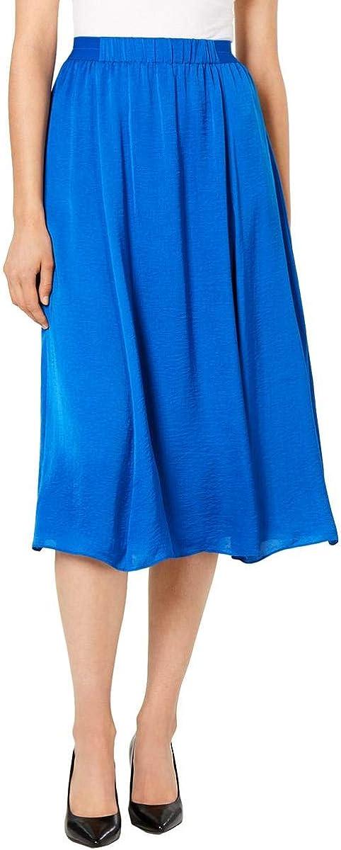 Alfani Womens Layered Solid Skirt