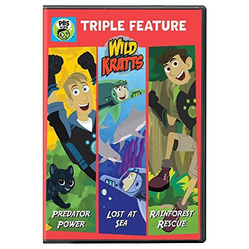 Wild Kratts: Triple Feature [Edizione: Stati Uniti] [Italia] [DVD]