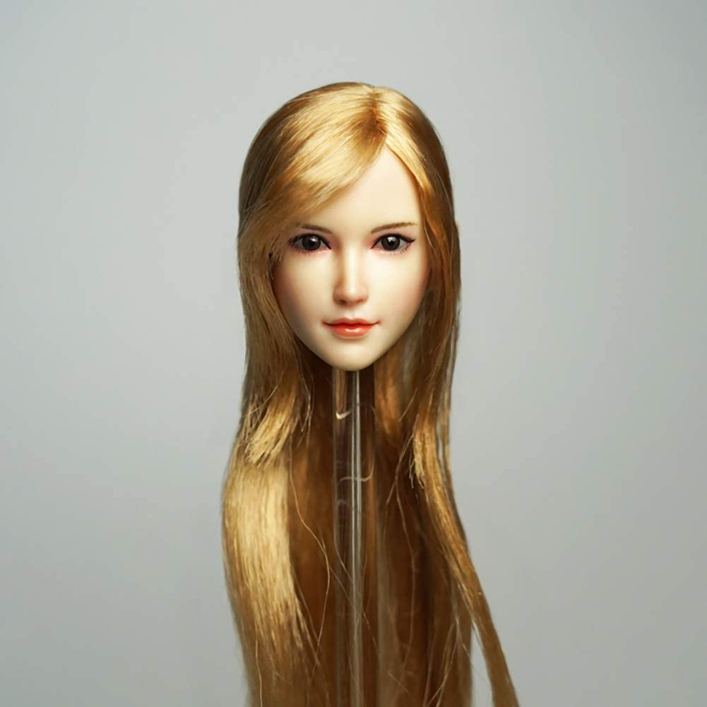 HUAXUE 1 6 Scale Head Sculpt Sexy European Eye-Mov American and Sale special 2021 model price