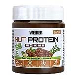 Weider Whey Protein Crunchy Choco Vegan Spread 250 g. 100% vegana, Baja en azúcares, efecto crunchy, 23% proteína de guisante