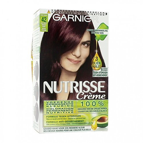 GARNIER - Coloration - NUTRISSE Crème - 42 Violine Profond