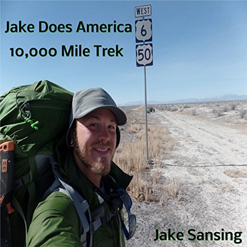 Jake Does America: 10,000 Mile Trek audiobook cover art
