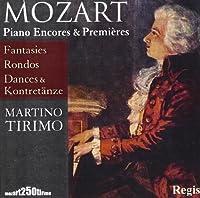 Mozart: Piano Encores & Premieres by Martino Tirimo