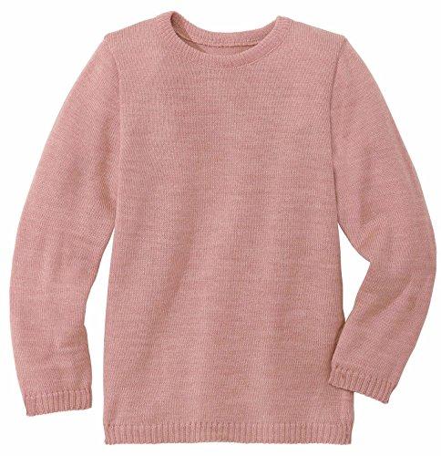 Disana Basic-Pullover - 110/116 - Rose