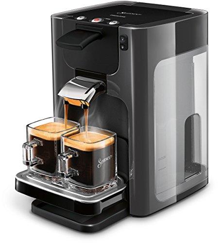Senseo Quadrante HD7868/20 - Cafetera (Independiente, Máquina espresso, 1,2 L, De café molido, 1450 W, Gris)