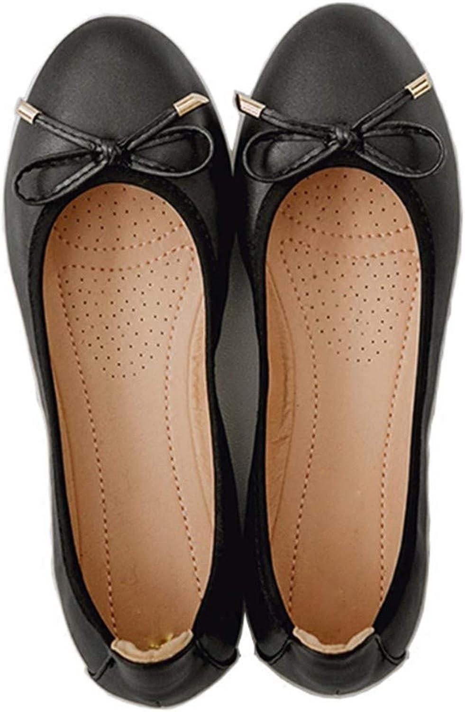 FLYRCX Die zusammenklappbaren tragbaren flachen Schuhe der Frauen beschuht Bequeme Flache Schuhe der flachen Schuhe der flachen Schuhe der flachen Schuhe der Frauen Schwangere