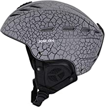 Joncom Ski Helmet, Snowboard Helmetfor Men & Women, Climate Control Venting, Dial Fit, Goggles Compatible, Removable Fleece Liner and Ear Pads, Safety-Certified Snow Sports Helmet