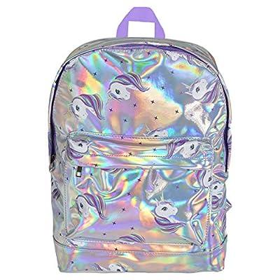 Mochilas Escolares Niña con Unicornios Bolsa de Viaje Holográfica para Niñas