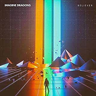chronical collection Album Cover Poster Thick Imagine Dragons: Believer Music 2018 giclee Record LP Reprint #'d/100!! 12 x 12