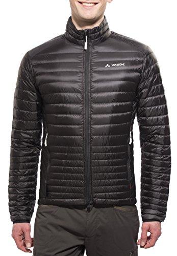 VAUDE Herren Daunenjacke Kabru Light Jacket II, schwarz, XL, 04896