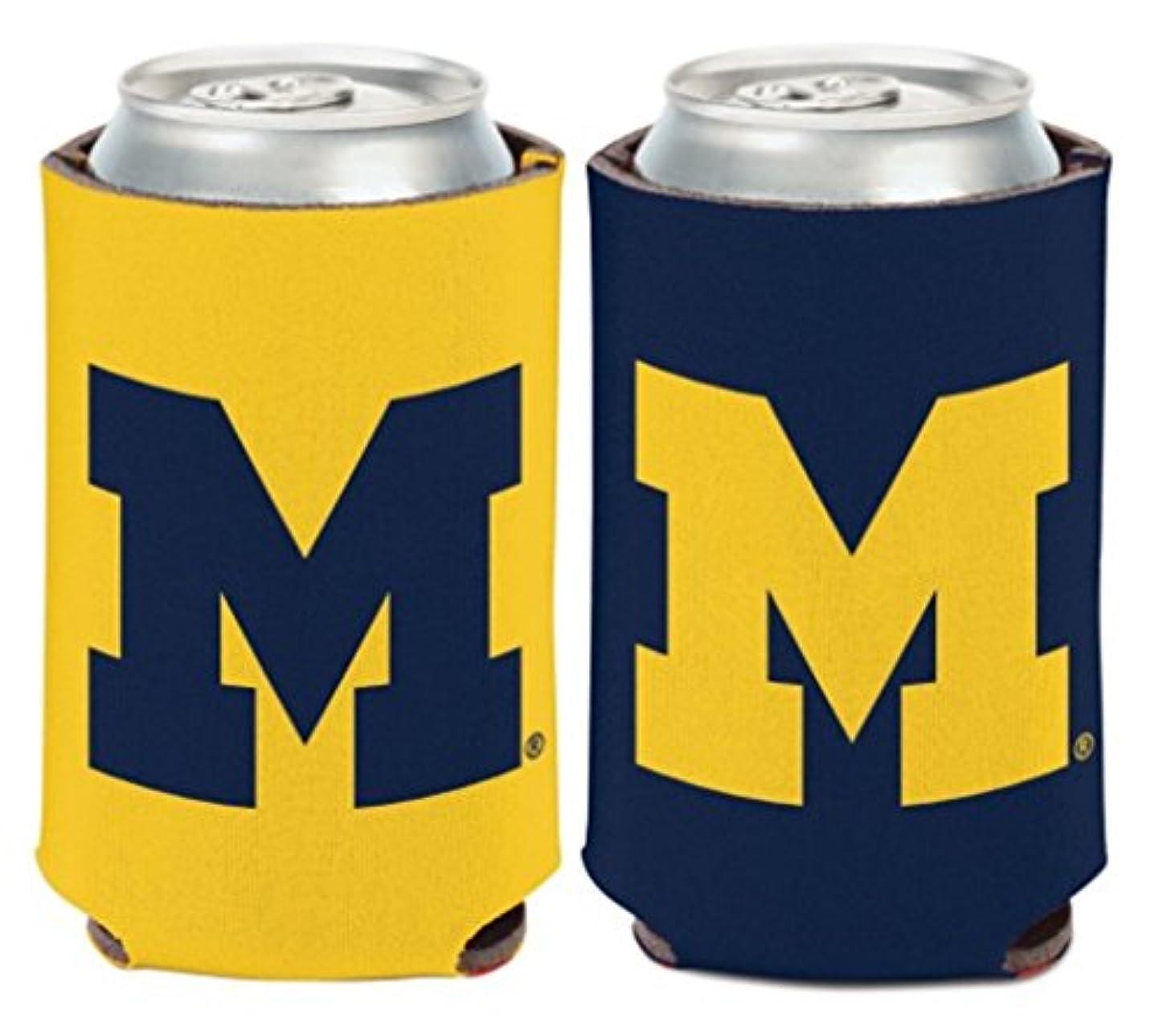 クラフトバーチャル領域NCAAミシガン大学Wolverines 1パック12オンス両面Can Cooler