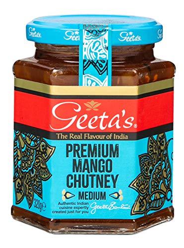 Geetas Mango-Chutney 320 g (6er-Pack)