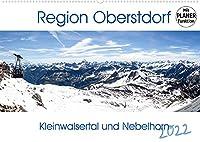Region Oberstdorf - Kleinwalsertal und Nebelhorn (Wandkalender 2022 DIN A2 quer): Wander- und Kletterregion - Berge mit allen Schwierigkeitsgraden NEU als Planer (Geburtstagskalender, 14 Seiten )