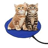 NuoYo Alfombrillas Térmicas Mascotas Manta de Mascotas Cama para Mascotas Cama para Perros Gato con 7 Niveles de Temperatura Ajustables