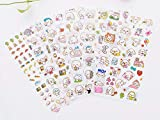 Small Cute Dog Letter Stickers Scrapbooking Stickers ,12 Sheets Washi Paper Dog Stickers Kawaii Korean Stationery Scrapbooking Stickers for Bullet Journals,Scrapbooks,Calendars (Dog)