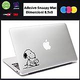 Adhesivo de ordenador – SNOOPY – stickers nuevos MacBook 13' 15' 17', notebook-Perro perro, adhesivo, accesorios, perros, decal 015 stickers