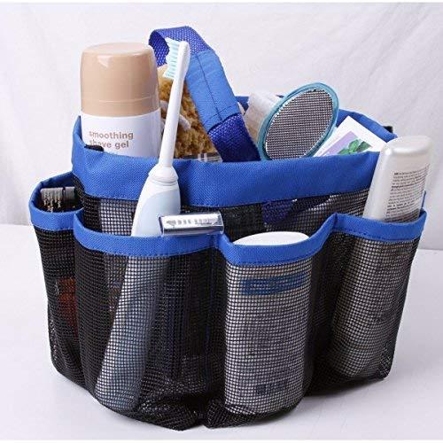 Import Tote Bag gemaakt van canvas en mesh - Perfect als strandtas, picknick tas of tuintas met handvatten en zes zakken
