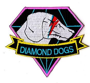 ZanzibarLand Metal Gear Solid Diamond Dogs Ziggy Stardust 1974 Patch  Hook and Loop