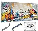 Monica Mirafiori Exclusive-Gallery 140x70 cm I Quadro Dipinto a Mano I Pittura I Albero Astratto I Arte Moderna