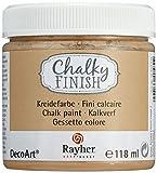 Rayher 38867535 Chalky Finish auf Wasser-Basis, Kreide-Farbe für Shabby-Chic-, Vintage- und...