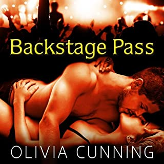 Backstage Pass audiobook cover art