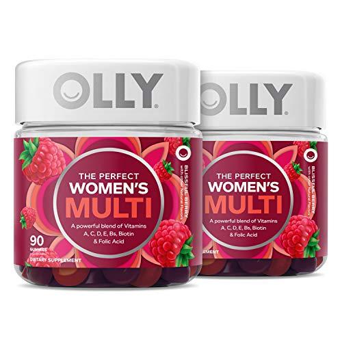 OLLY Women's Multivitamin Gummy, Vitamins A, D, C,...