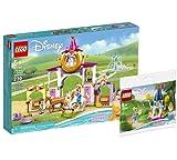 Lego Set – Disney Princesa Belles y Rapunzels 43195 + Mini Castle Cenicienta 30554 bolsa de plástico