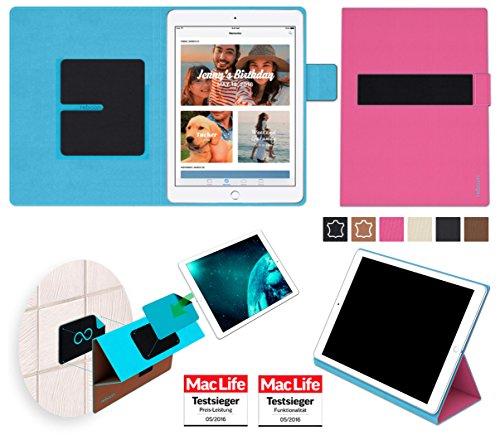 Hülle für Apple iPad (2017) Wi-Fi plus Cellular Tasche Cover Hülle Bumper | in Pink | Testsieger