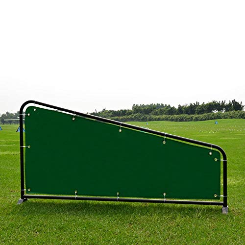 Amazing Deal Bayue Double Tube Golf Divider, Canvas Hitting Divider, Golf Driving Range Supplies Equ...
