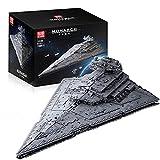 Bloque de construcción de tecnología Imperial Star Destroyer Kit, Wing Fighter UCS Collection Series, 11885 piezas Grandes juegos Star Wars Empire compatibles con Lego A,118 * 72 * 38cm