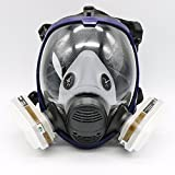 7Piece Suit Painting Spraying Decoration Woodworking For 6800 Mask Full Face Facepiece Respirator