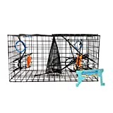 8. Maryland Blue Crab Pot Trap, PVC Coated Wire mesh, Heavy Duty, Two T.E.D. (Turtle Excluder Device), Two Escape Rings, Float, Rope, Ready for use. Come with Crab & Lobster Measure Gauge. Made in USA