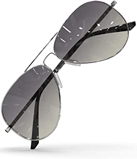 LUENX Men Women Sunglasses Polarised Lens - UV 400 Protection 60MM with Accessories