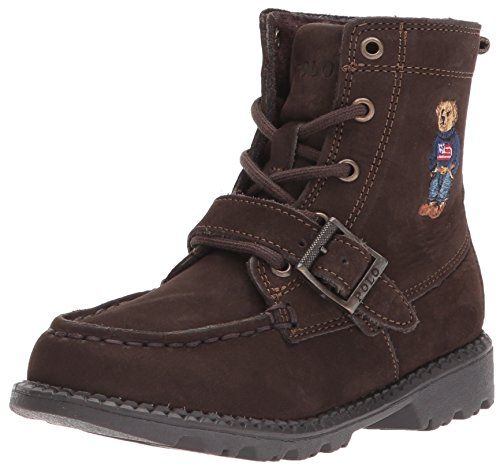 Polo Ralph Lauren Kids baby-boys Ranger HI II Fashion Boot, Cashew, M055 M US Toddler