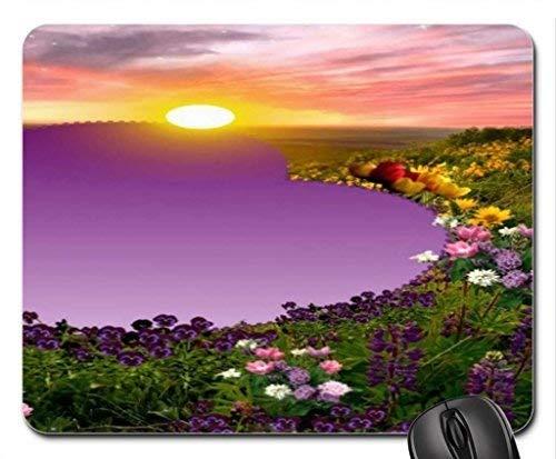 MP-2307 Wiosna Miłość Sunset Podkładka pod mysz, podkładka pod mysz * Kwiaty Podkładka pod mysz
