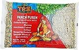 TRS Panch phoron con una mezcla exótica de especias indias enteras: comino, hinojo, fenogreco, semillas de mostaza marrón y kalonji 300g