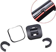 MTB Bike Road Bicycle c-Clips Clamps housing Hose Guide with Adhesive seat for Brake derailleur Shift Cables or Oil Tube, 4 pcs/Pack