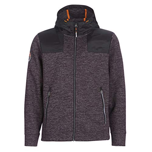 Superdry Mountain Ziphood Sweatshirts Und Fleecejacken Herren Schwarz - XL - Sweatshirts Sweater