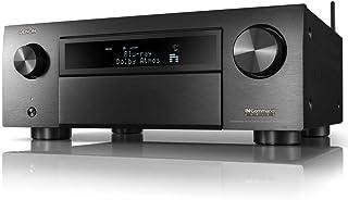 Denon AVR-6700H 8K Ultra HD 11.2 Channel (140 Watt X 11) AV Receiver 2020 Model - 3D Audio & Video with IMAX Enhanced, Built for Gaming, Music Streaming, Alexa + HEOS, Model Number: AVRX6700H