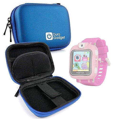 DURAGADGET Estuche Rígido Azul para AGPtek W6 Reloj Inteligente para niños