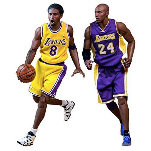Enterbay Kobe Bryant Real Masterpiece Action Figure (2 Pack)