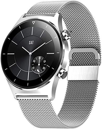 LLM Más nuevo reloj inteligente hombres tarjeta SIM deportes smartwatch GPS soporte Bluetooth pantalla redonda reloj de pulsera mujeres para IOS Android (E)
