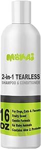 MOKAI Tearless Shampoo for Puppies Kittens & Ferrets